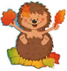 Ősz :: Óvoda Autumn Activities, Activities For Kids, Crafts To Make, Crafts For Kids, Hedgehog Craft, Crochet Fall, Felt Patterns, School Themes, Autumn Art