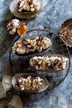 Caramel Crunch Eclai