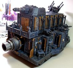 Making Epic vehicles look less silly in 40k Proportions