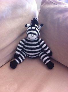 Zebra - Knitting creation by Kathy | Knit.Community