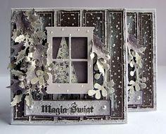 Card with Memory Box Die