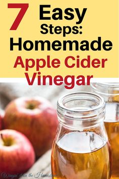 Ready for a simply wonderful way to make homemade apple cider vinegar? Apple cider vinegar can be used for many things – grab this amazingly simple recipe and then learn how to start your homesteading journey TODAY at Winging it on the Homestead! #homestead #applecidervinegar #canning #foodpreservation #preserving #recipe #simpleliving #foodwaste #zerowaste #apples #vinegar Canning Apples, Canning Jar Labels, Canning Recipes, Preserving Recipe, Homemade Apple Cider Vinegar, How To Make Vinegar, Vinegar With The Mother, Healty Dinner, Real Food Recipes