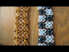 Rainbow Loom- Clockwork Bracelet (Original Design) - YouTube  Hook only and uses about 24 C clips