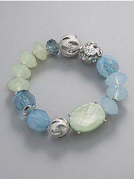 New York & Company - Necklaces - Tonal Chunky-Bead Necklace