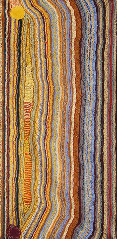 May Chapman Rockholes & Tali  2012   760 x 1520mm