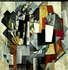 Kazimir Malevich - Cubist Work