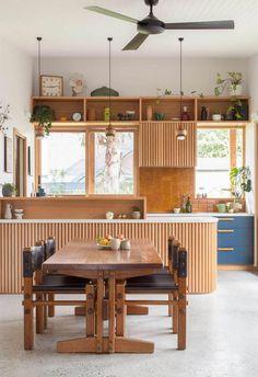 Kitchen interior design – Home Decor Interior Designs Home Design, Interior Design, Patio Design, Kitchen Interior, Kitchen Decor, Kitchen Ideas, Kitchen Wood, Kitchen Trends, Layout Design