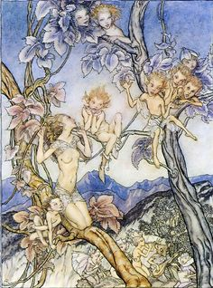Fairy Song (detail), from A Midsummer Night's Dream, Act II, scene ii. (William Shakespeare)