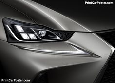 Lexus IS 2017 poster, #poster, #mousepad, #tshirt