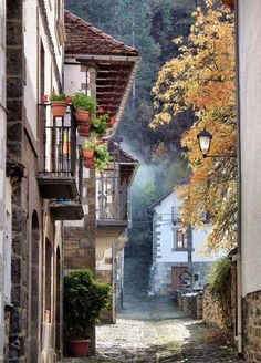 streets of Ochagavia, Spain (by toyaguerrero) Beautiful Streets, Beautiful World, Beautiful Places, Oh The Places You'll Go, Places To Travel, Places To Visit, Basque Country, Spain And Portugal, Ansel Adams