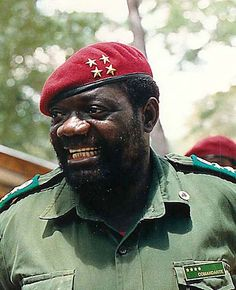 the leader of UNITA in Angola until Angola Africa, Army Day, Defence Force, Fidel Castro, Royal Marines, African Countries, World War One, African History, Black Power