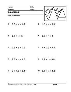 math worksheet : integers worksheets and the o jays on pinterest : Math Worksheets For Pre Algebra