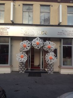Opening of an Indian restaurant. Arch by Kevin @ Premier Balloons