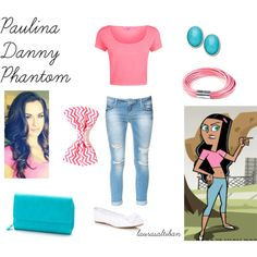 """Paulina - Danny Phantom"" by laurasaltiban on Polyvore"