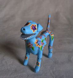 Daay of the Dead Sugar Skull Dog