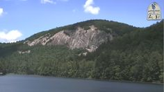 Old Baldy and the Fairfield Lake in Sapphire Valley, NC
