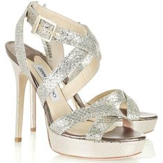 Jimmy Choo 'Vamp' Glitter Platform Sandals as seen on Kate Middleton, The Duchess of Cambridge Shoes For Less, Me Too Shoes, Fab Shoes, Gold Shoes, Kate Middleton Shoes, Glitter Sandals, Jimmy Choo Shoes, Fashion Heels, Milan Fashion