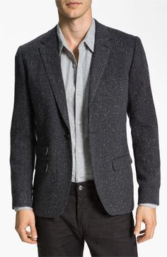 Original Penguin One Button Donegal Blazer available at #Nordstrom