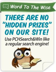 PCH Search & Win: Publishers Clearing House Gwy. No. 3814. [Tony Casillas]
