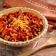 Weight Watchers Recipes: Taco Chicken Chili - Calories: 200 -  4 weight watcher points - Amazingly good!