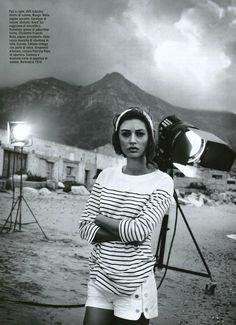MANGO Shorts (Vogue, ITALY)