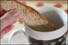 Snickerdoodle Biscotti. So yummy and perfect for holiday gifts!