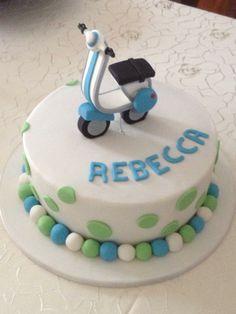 Torta Vespa Vespa cake httpswwwfacebookcomQuetayYeya