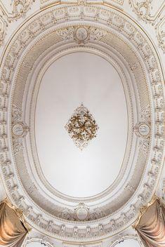 Старый дворец. Белый зал, Шелковая и Мраморная гостиные