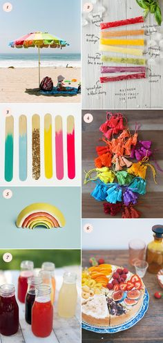 Rainbow ideas for summer | 100 Layer Cakelet