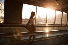 Last scene - airport