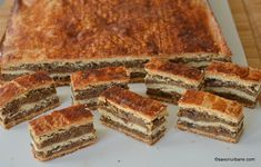 Romanian Desserts, Romanian Food, Sweet Cakes, Soul Food, Cooking Tips, Cookie Recipes, Banana Bread, Sweet Treats, Food And Drink