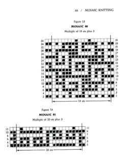 Mosaic Knitting Barbara G. Walker (Lenivii gakkard) Mosaic Knitting Barbara G. Walker (Lenivii gakkard) #71