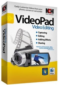 VideoPad Video Editor allows you to edit video from any camcorder, DV camcorder, VHS or webcam. You can import almost any video file VideoPad Video Editor