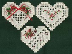 Jill's Stitching Pages - Hardanger designs