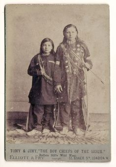 "Boy Chiefs of the Sioux by paws22, via Flickr. I don't know anything about this picture or about the ""boy chiefs"". Is this the same thing as so many people having a ""Cherokee Princess"" as an ancestress?"