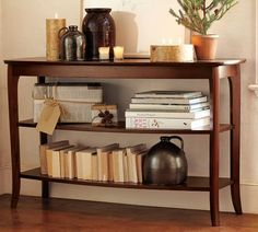 Finally Ordered The PB Chloe Console For My Library. Love The Lines And  That It