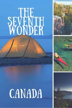 Canada's Seventh Wonder. What is it? It's the Sleeping Giant Provincial Park in Ontario Canada.