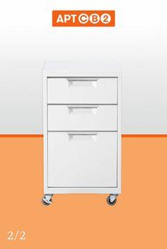 APTCB2 - TPS White File Cabinet
