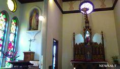 畳敷きの礼拝堂、日本最後のキリシタン弾圧 津和野カトリック教会 #Tsuwano, Japan