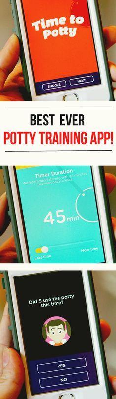 Best Ever Potty Training App: