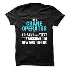 Love being A CRANE OPERATOR T Shirts, Hoodies. Get it now ==► https://www.sunfrog.com/Geek-Tech/Love-being-CRANE-OPERATOR-56325245-Guys.html?57074 $21.99
