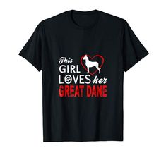 Funny Great Dane Dog Puppy T-Shirts For The Great. Do You Love Your Great Dane Dog? Show How Much You Love Dogs With This Great Dane Dog Puppy T-Shirt. Shirt Size Fits Women, Men, and Children. Perfect Xmas Birthday gift t-shirt for the Great Dane Dog lover. Large Dog Breeds, Large Dogs, Crown Braids, Great Dane Dogs, Game Boy, Dog Show, Dogs And Puppies, Fit Women, Love Her
