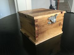 Just finished this rustic style jewelry box made with repurposed wood. Will be on ETSY soon. @govarollc