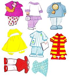 Little Kiddle Paper Dolls