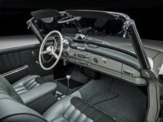 1961 MERCEDES-BENZ 190 SL ROADSTER - Interior - 196148 | Mercedes ... | {Armaturenbrett mercedes 93}
