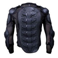 motorcycle full body armor jacket spine chest shoulder protection riding L size