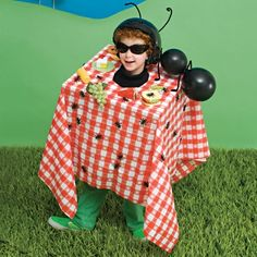 DIy halloween kids costume - Picnic