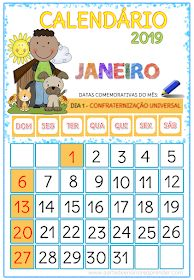 A Arte de Ensinar e Aprender: CALENDÁRIOS 2019 Math For Kids, Professor, Curriculum, Diagram, Classroom, Activities, School, School Calendar, Homeschool