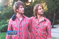 Photo of Eric Olsen and his Brother for fans of NCIS: Los ...