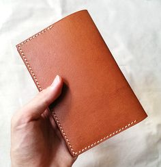Passport Holder with Card Slot Boarding Pass by RomacBrothersCo